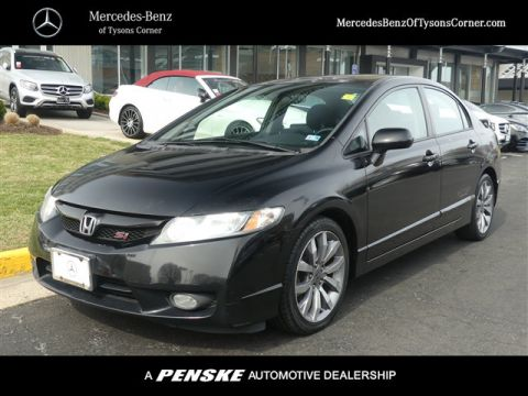 Pre-Owned 2009 Honda Civic Sedan Si