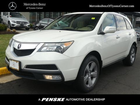 Pre-Owned 2011 Acura MDX AWD 4dr Tech/Entertainment Pkg