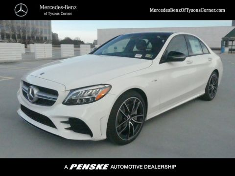 New 2019 Mercedes-Benz C-Class AMG® C 43 Sedan