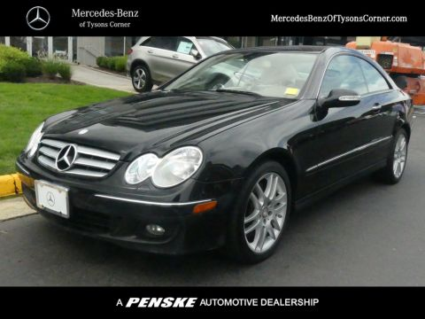 Pre Owned 2009 Mercedes Benz CLK CLK 350 2dr Coupe 3.5L