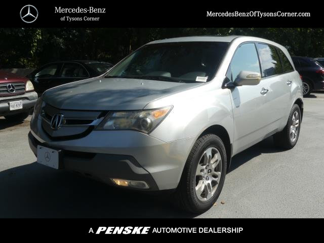 Pre-Owned 2008 Acura MDX 4WD 4dr Tech/Pwr Tail Gate