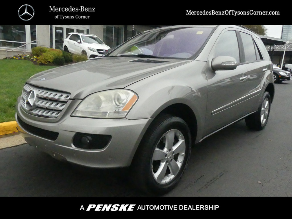 Pre Owned 2006 Mercedes Benz M Cl Ml 500
