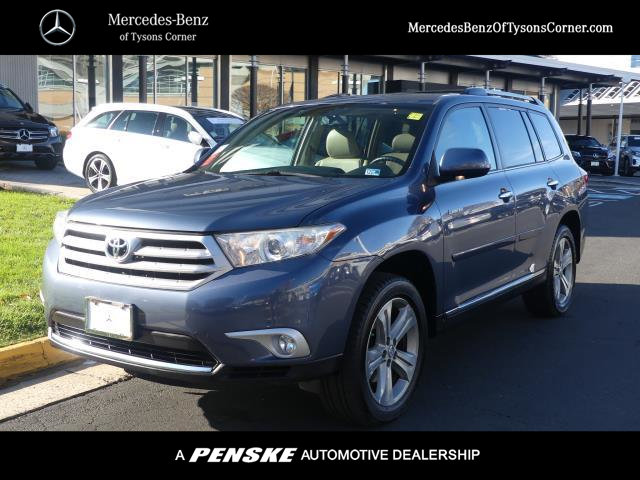 Pre-Owned 2013 Toyota Highlander 4WD 4dr V6 Limited