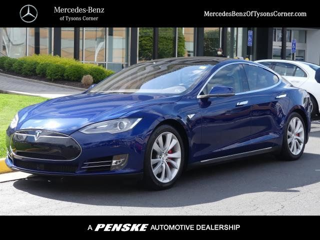Mercedes Tysons Corner >> Pre-Owned 2015 Tesla Model S 4dr Sedan AWD P90D Sedan in Vienna #20P0408A | Mercedes-Benz of ...