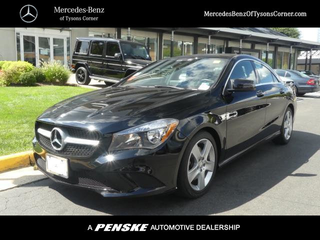 Mercedes Tysons Corner >> Pre-Owned 2016 Mercedes-Benz CLA 4dr Sedan CLA 250 4MATIC® Coupe in Vienna #UM20583 | Mercedes ...