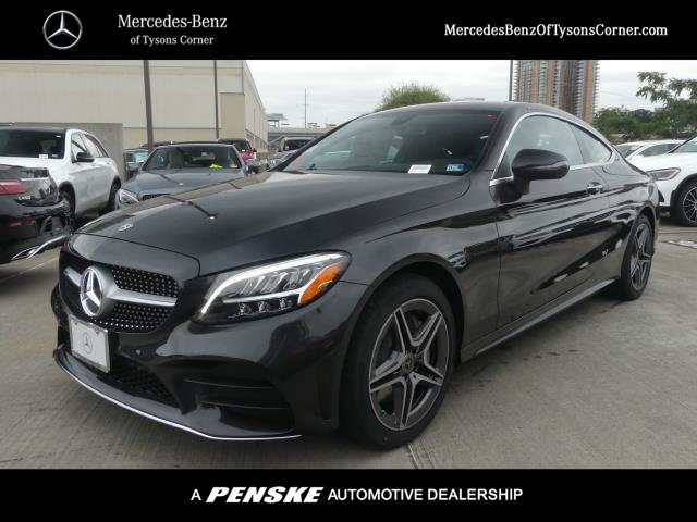 New 2020 Mercedes Benz C 300 4matic Coupe Awd 4matic