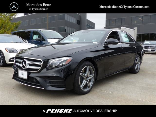 New 2018 mercedes benz e class e 300 sedan in vienna for Mercedes benz tysons service