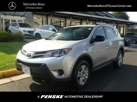Pre-Owned 2015 Toyota RAV4 FWD 4dr LE