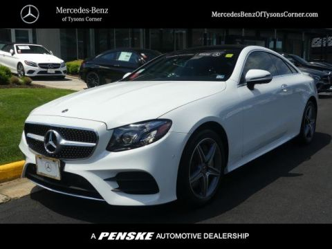 Certified Pre-Owned 2019 Mercedes-Benz E-Class E 450 4MATIC® Coupe