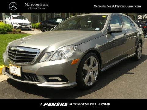 Pre-Owned 2011 Mercedes-Benz E-Class 4dr Sedan E 350 Sport RWD