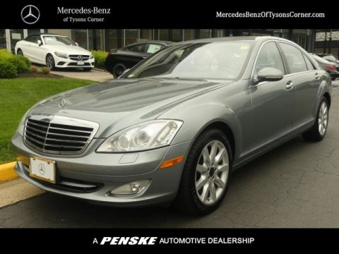 Pre-Owned 2008 Mercedes-Benz S-Class S 550 4dr Sedan 5.5L V8 4MATIC®