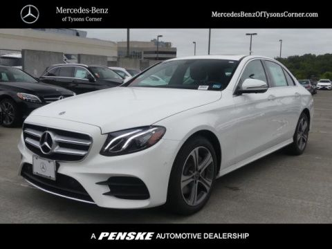 New 2020 Mercedes-Benz E-Class E 350 4MATIC® Sedan
